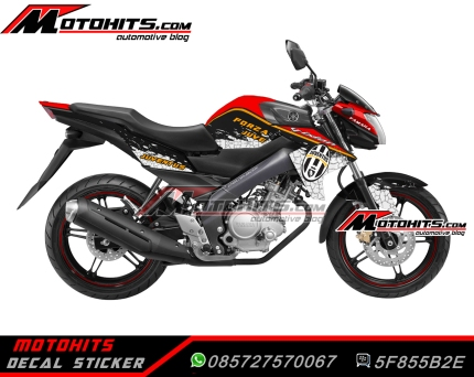 Decal Sticker Yamaha New Vixion