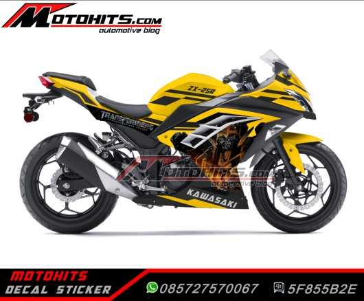 decal sticker ninja 250