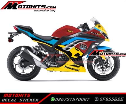 Bike : Ninja 250fi Concept : Marc VDS Harga : Rp. 825.000