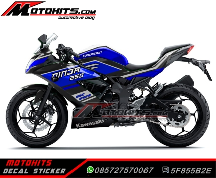 decal sticker ninja 250rr mono