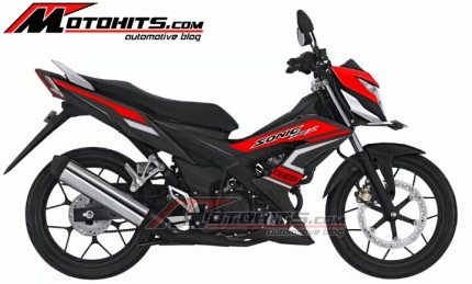 Decal Sticker Honda Sonic 150R