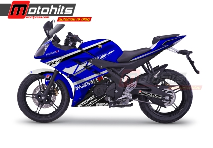 Modif decals Yamaha R15