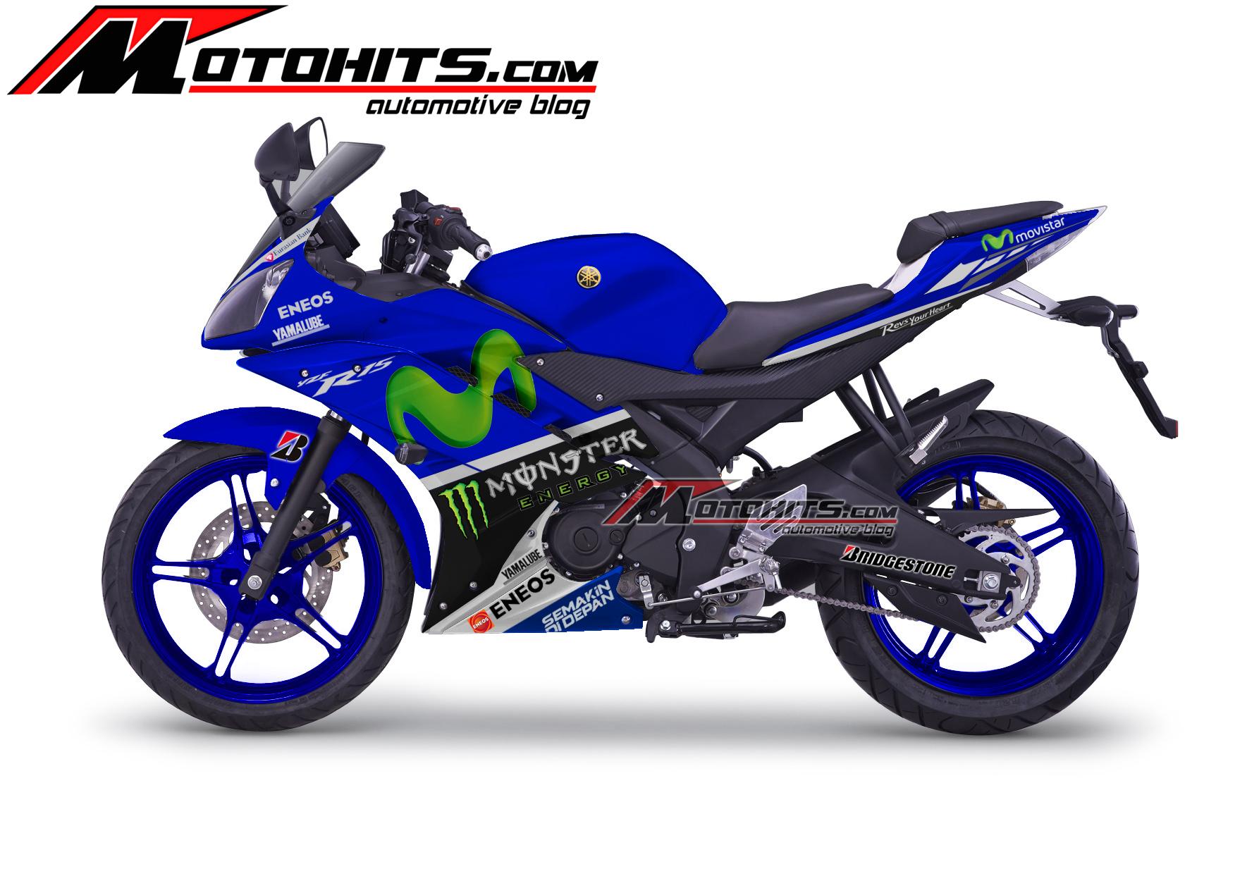 Decal Sticker Yamaha YZF R15 Motohitscom