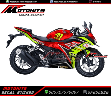 decal sticker all new honda cbr150r