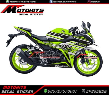 deacal sticker all new cbr150r