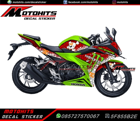 Bike : All New CBR150R Concept : Ken Block Harga : Rp. 825.000