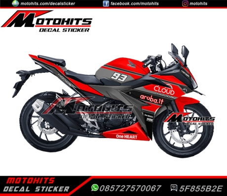 Decal stickr all new cbr150r