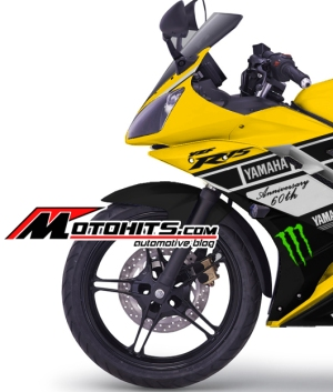 Modifikasi decal sticker Yamaha R15