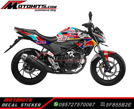 Decal Sticker All New Honda CB150R