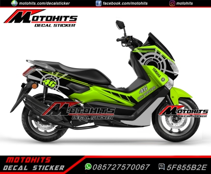 Decal Sticker Yamaha Nmax