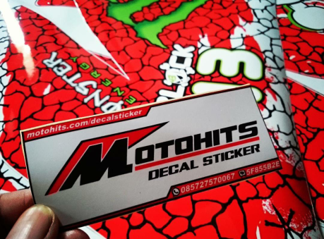 motohits decal sticker