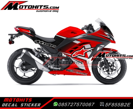 Decal sticker Ninja 250Fi