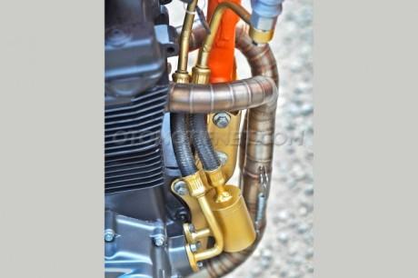 Modifikasi Honda GL Pro Dual Cylinder
