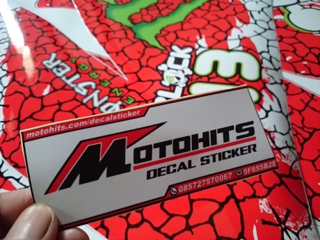 decal sticker motohits