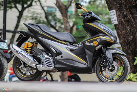 Yamaha Aerox modifikasi