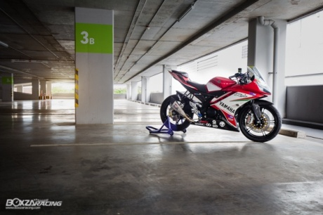 modifikasi Yamaha R15 2017
