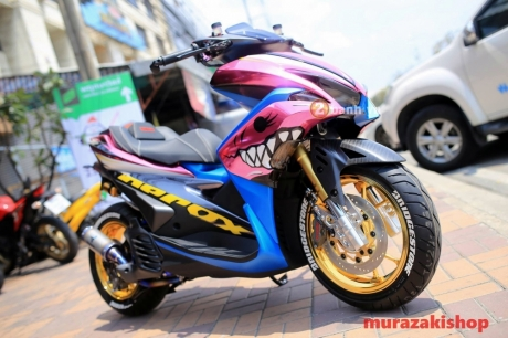 modifikasi Yamaha Aerox