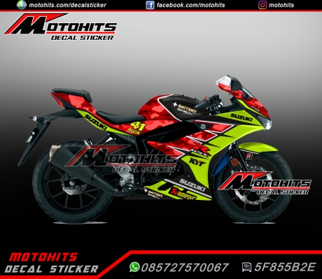 decal sticker Suzuki GSX-R150