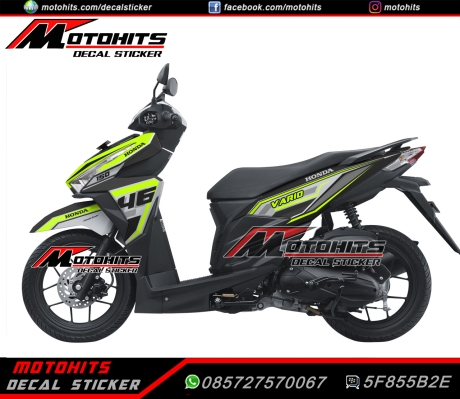 Decal Sticker Honda Vario 150/125