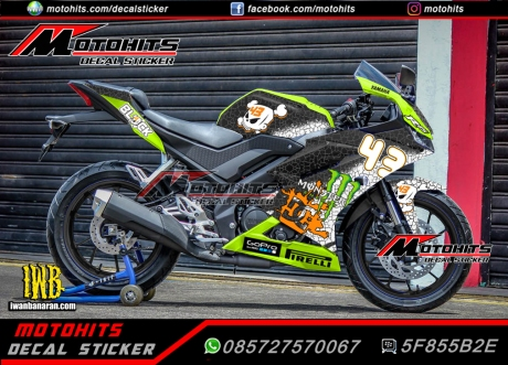 decal sticker all new yamaha R15