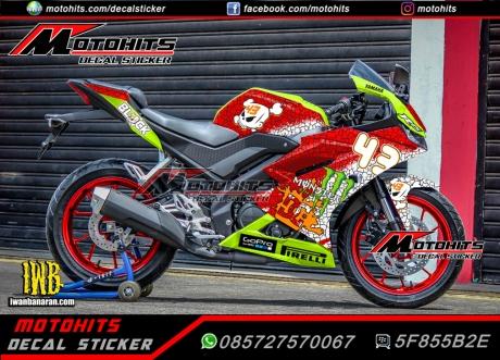decal sticker all new yamaha R15