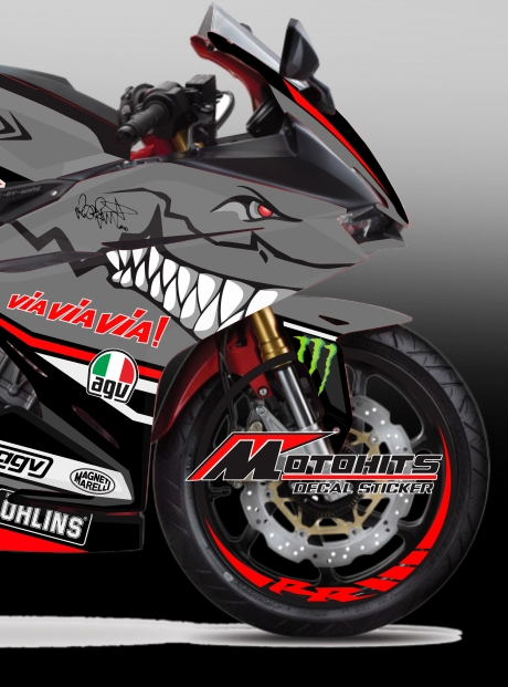 decal sticker honda cbr250rr