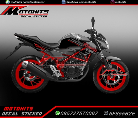 decal cb150r black