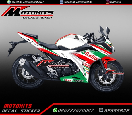 Decal Honda CBR150R