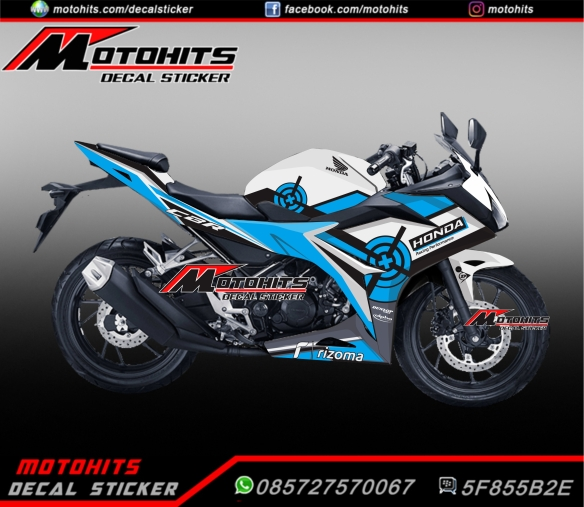 Decal Sticker All New Honda Cbr150r Motohitscom