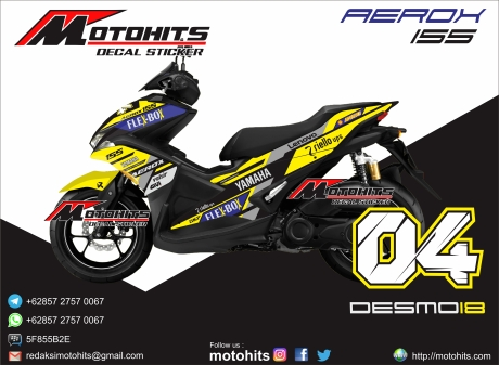 Decal Yamaha Aerox