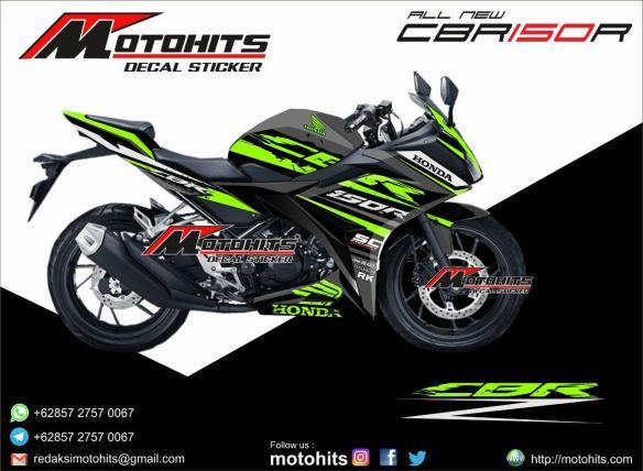 Decal Sticker All New Honda Cbr150r Motohits Com